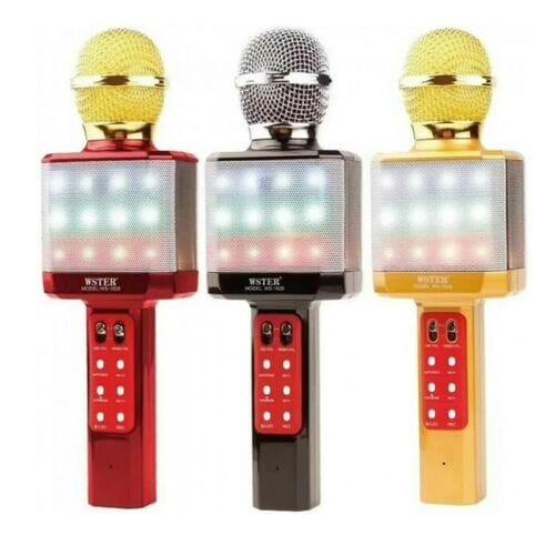 Беспроводной караоке микрофон Wster WS 1828
