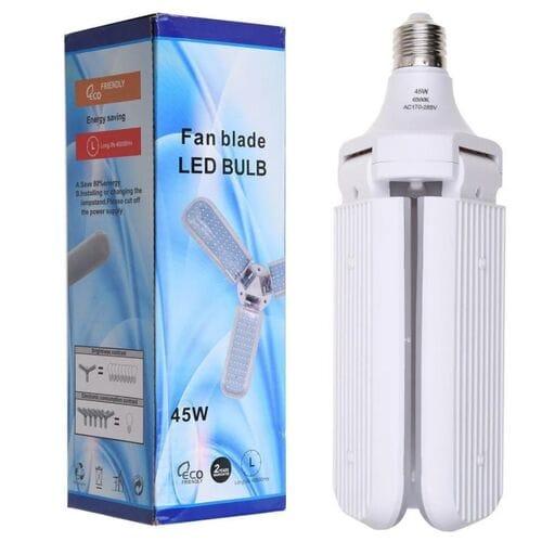 Складная лампа Fan Blade led bulb в форме вен...