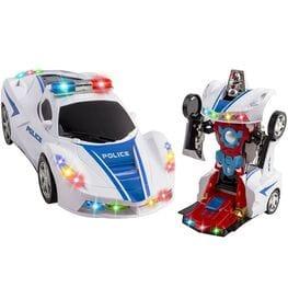 Robot Change Police Car 2 в 1 машинка трансфо...