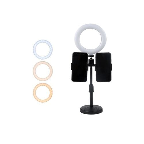 Селфи лампа Live Light Holder WS-868 светодио...