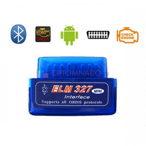 Автосканер bluetooth ELM 327