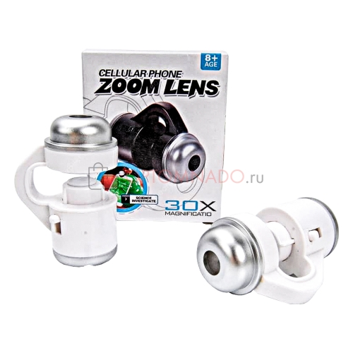 Зум объектив для смартфона Cellular Phone Zoom Lens 30X